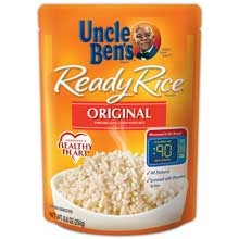 Uncle Bens Original Long Grain White Ready Rice - 8.8 Oz.
