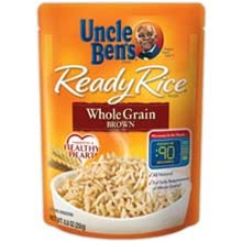 Mars Foodservice Whole Grain 8.8 oz. Brown Ready Rice
