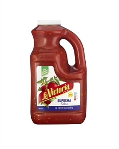 Megamex La Victoria Salsa Medium Suprema With Onion - 1 Gal.