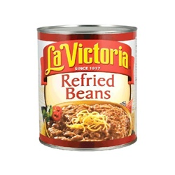 Megamex La Victoria Refried Bean - 2 Oz.