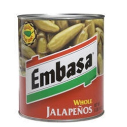 Megamex Embasa Whole Jalapeno - 1 Oz.