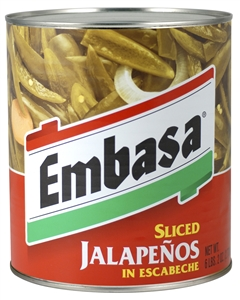 Sliced Jalapeno Pepper With Escabeche - 98 Oz.