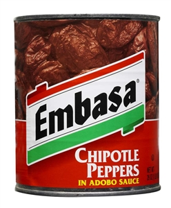 Megamex Embasa Chipotle Peppers In Adobo Sauce - 26 Oz.