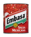 Megamex Embasa Salsa Mexican Medium - 1 Oz.