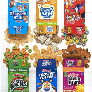 Kelloggs Individual Assorted Cereal - 1.02 Oz.