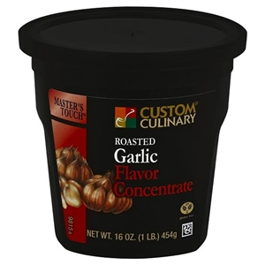 Custom Culinary Gold Label Roasted Garlic Base No Msg Added - 1 Lb.
