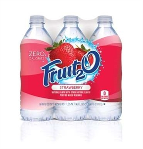 Sunny Fruit 2O Strawberry Beverage - 16 Oz.