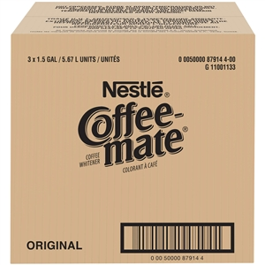 Nestle Coffee Mate Regular Liquid Creamer Bulk - 192 Oz.
