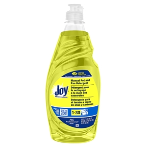 Procter and Gamble Joy Manual Pot and Pan Detergent Lemon Scent 38 Oz.