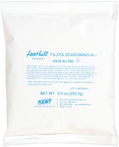 Foothill Farms Fajita Seasoning Mix - 8.9 Oz.