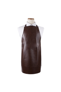 Arden Benhar Heavy Duty Brown Vinyl Bib Apron