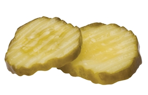 Bay Valley Hamburger Chip 1 Gallon Crinkle Cut Pickle