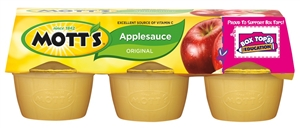 Motts Original Apple Sauce - 24 Oz.