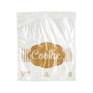 Handgards Cooklie Print Bag Clear - 5.5 in. x 5.5 in.