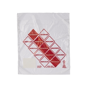 Handgards Wednesday Preportioned Bag Clear - 6.5 in. x 7 in.
