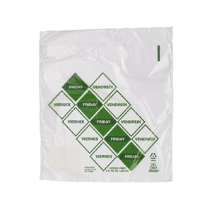 Handgards Friday Preportioned Bag Clear - 6.5 in. x 7 in.