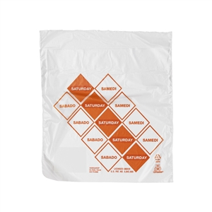 Handgards Saturday Preportioned Bag Clear - 6.5 in. x 7 in.