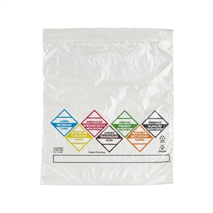 Handgards Week Preportioned Bag Clear - 6.5 in. x 7 in.