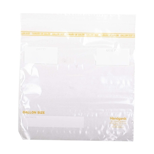 Handgards Zipgard Flat Pack Bag Clear - 10.5 in. x 10.5 in.