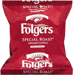 Folgers Special Roast Regular Filterpack Coffee - 0.9 Oz.