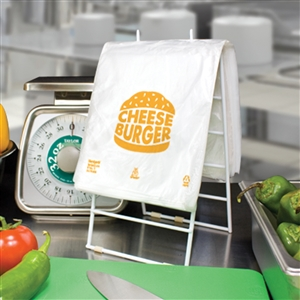 High Density Saddle Printed Cheeseburger Bag