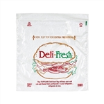 Handgards Deli Fresh Print Bag Clear - 8.5 in. x 8.5 in.