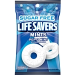 Wrigleys Lifesaver Pep-O-Mint Bag Candy Sugar Free - 2.75 Oz.