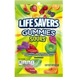 Wrigleys Lifesaver Gummi Sour Candy Peggable - 7 Oz.