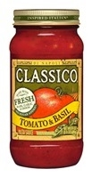 Classico Tomato And Basil - 24 Oz.