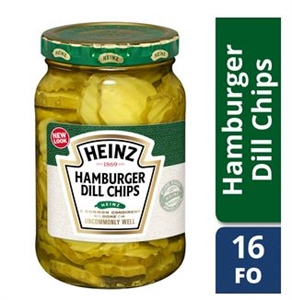 Heinz Hamburger Dill Pickle Slices - 16 Oz.