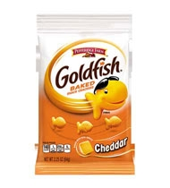 Campbell's Goldfish Cheddar Cracker 2.25 Oz.