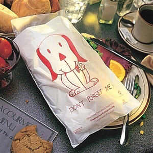 Handgards Doggie Bag White - 7 in. x 12 in.