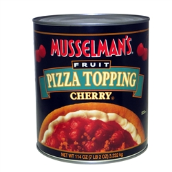 Musselmans Cherry Pizza Topping - 114 Oz.
