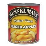 Knouse Foods Musselmans Sliced Water Packed Apples - 104 Oz.