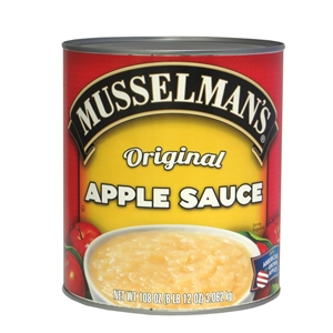 Knouse Foods Musselmans Sweetened Apple Sauce - 108 Oz.