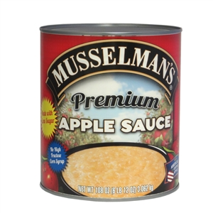 Musselmans Premium Sweetened Apple Sauce - 108 Oz.