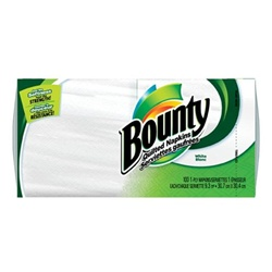 Procter and Gamble Bounty Napkins Paper White