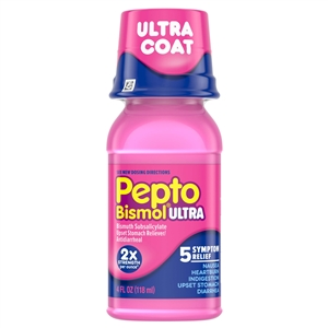 Procter and Gamble Pepto Maximum Strength Liquid - 4 Oz.