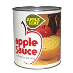 Knouse Foods Apple Leaf Sweetened Apple Sauce - 108 Oz.