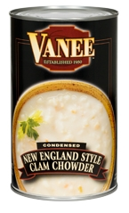 Vanee Foods Condensed Cream Of Mushroom Soup - 50 Oz.
