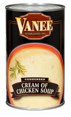 Vanee Foods Condensed Cream Of Chicken Soup - 50 Oz.