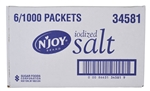 Sugar Foods N Joy Iodized Salt Packets
