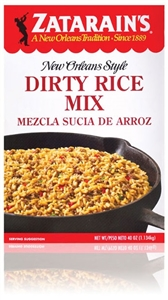 Zatarains Dirty Rice Mix - 40 Oz.