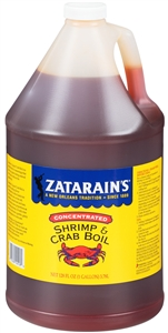 Zatarains Concentrated Liquid Crab Boil - 1 Gal.