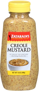 Zatarains Creole Mustard Squeeze Bottle - 12 Oz.
