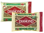 Diamond Walnut Halves and Pieces - 2 Lb.