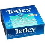 Tetley Natural Decaffeinated Envelope Tea