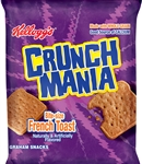 Kelloggs Cinnamania French Toast Graham Snacks - 1.76 Oz.