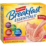 Nestle Carnation Instant Breakfast Strawberry Powder - 1.26 Oz.