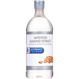 McCormick Imitation Plastic 1 Quart Almond Extract